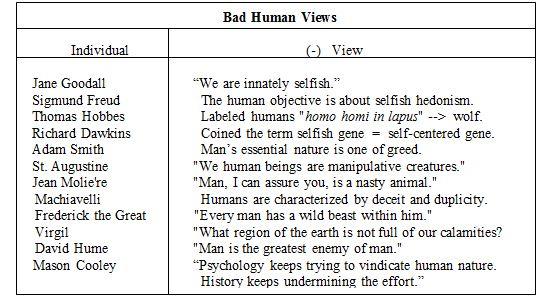 bad human